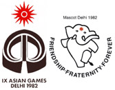 IXth ASIAN GAMES 1982 Held In Delhi
