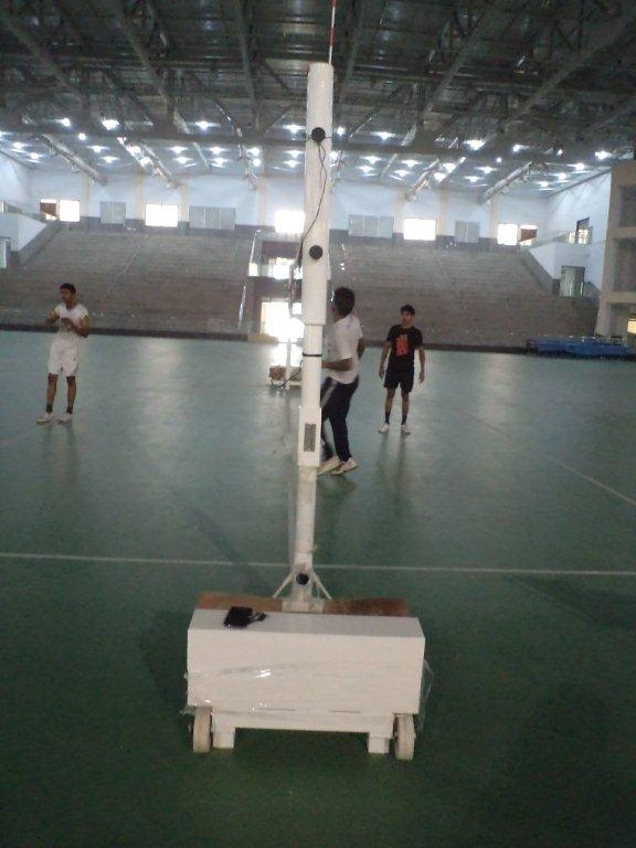Volleyball Pole Movable